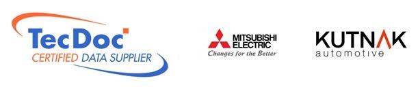 Loga KUTNAK, Mitsubishi Electric a TecDoc