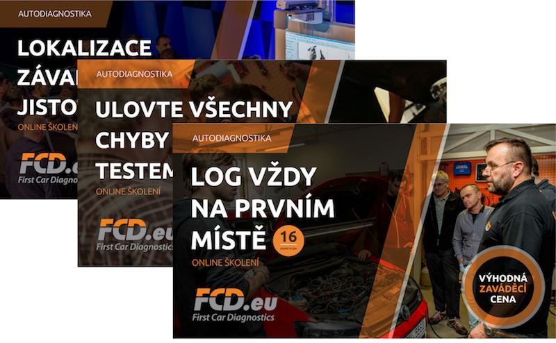 FCD nabídka 3 online školení za cenu 2