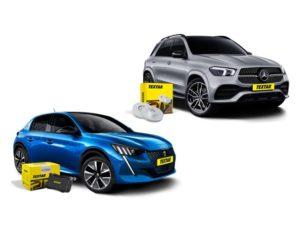 Textar nabízí díly pro nový Peugeot 208 a Mercedes Benz GLE