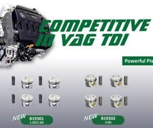 AUTO-MOTO RS rozšiřuje portfólio o samostatné písty, sady pístů a kroužky značky Borsehung
