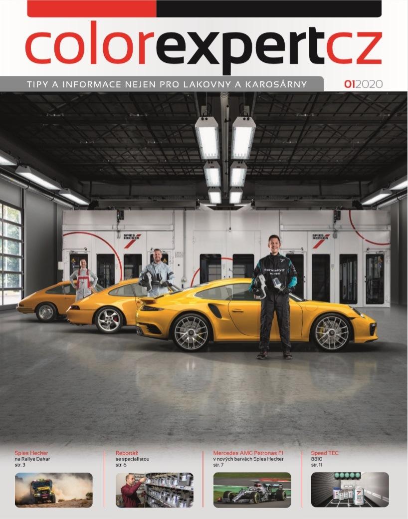 Interaction: Časopis Color Expert 01/2020