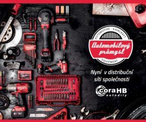 Firma coraHB autodíly zařadila do své nabídky produkty Milwaukee