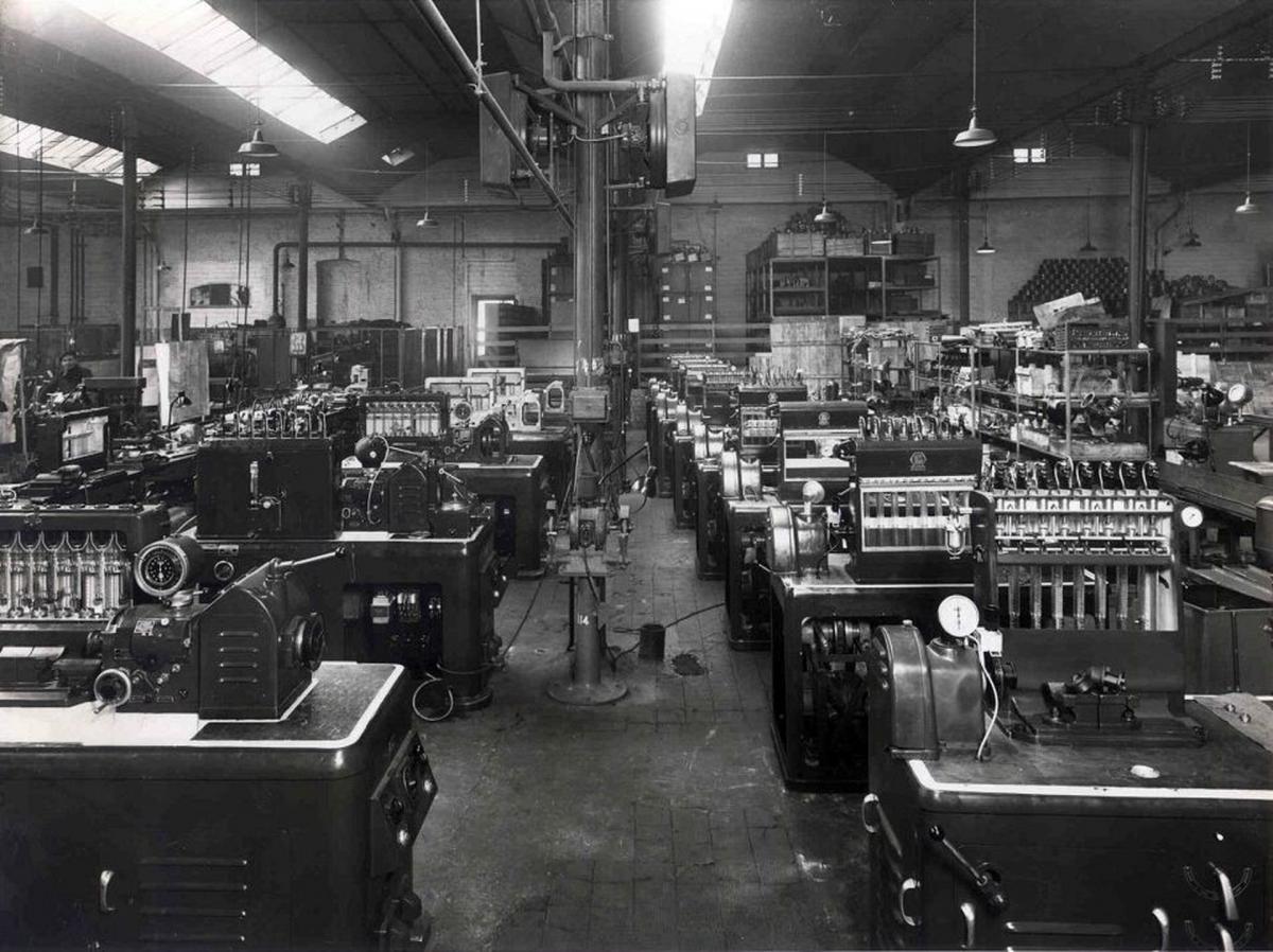 První stroje Rabotti