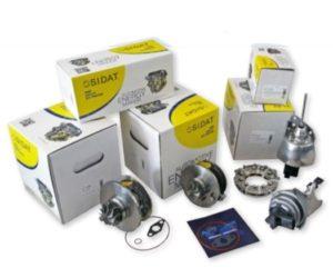 LKQ CZ (Auto Kelly) zařadili do nabídky náhradní díly na turbodmychadla SIDAT