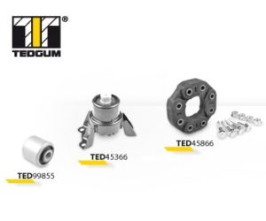 Nové produkty v nabídce firmy TEDGUM