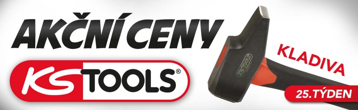 Akční ceny na kladiva KS Tools u J+M autodíly