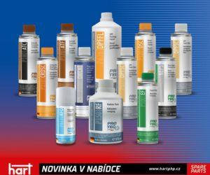 HART rozšiřuje nabídku o chemii PRO-TEC
