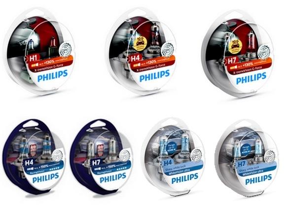 Halogenové žárovky Philips