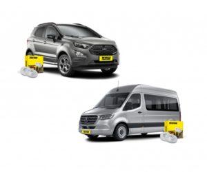 Brzdové kotouče pro Ford Ecosport a Mercedes-Benz Sprinter značky Textar