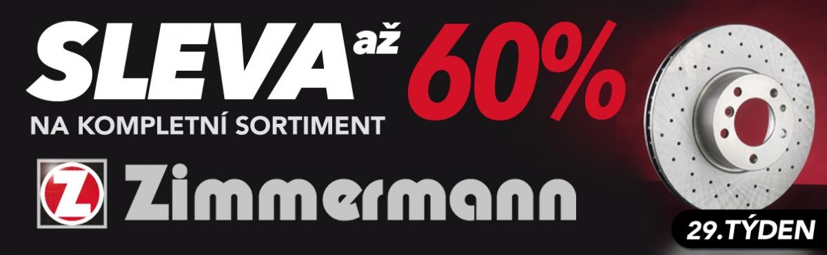 J+M autodíly: Až 60% slevy na sortiment Zimmermann