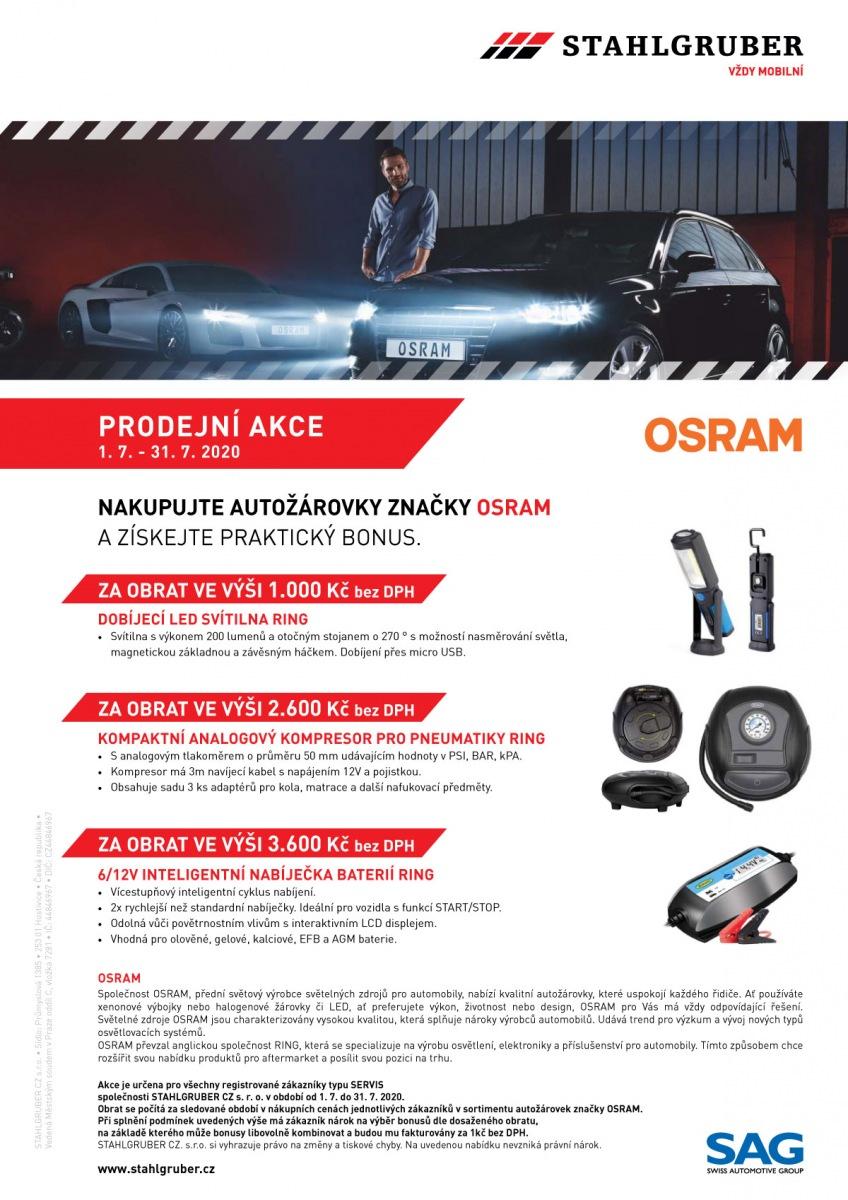 Stahlgruber akce na produkty Osram