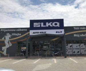 Nová pobočka skupiny LKQ CZ (Auto Kelly + ELIT) v Chomutově