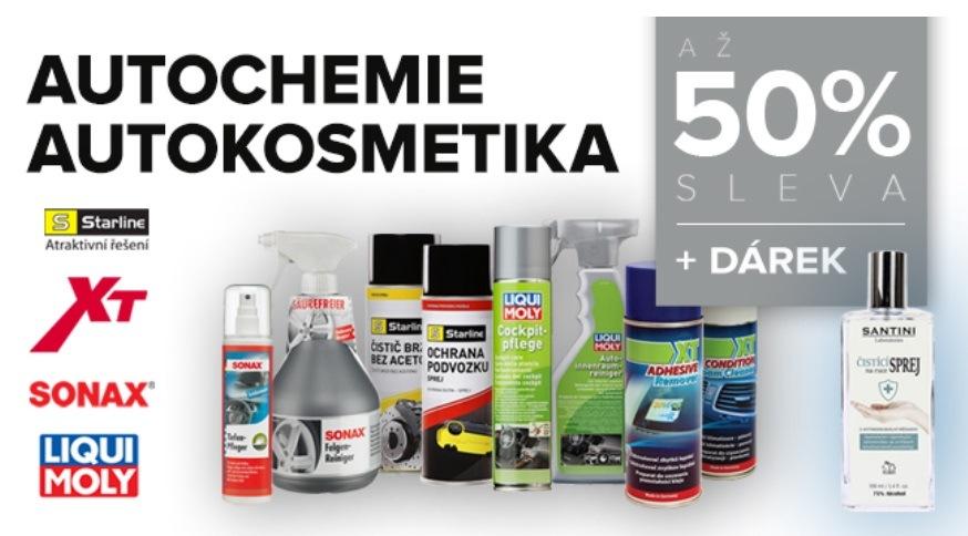 Skupina LKQ CZ (Auto Kelly + ELIT): Až 50% slevy na autochemii a autokosmetiku