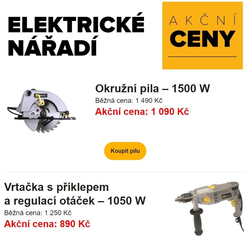 Elektrické nářadí v akci u LKQ