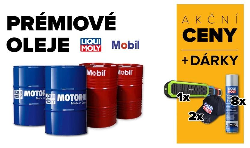 Akční ceny na oleje u LKQ CZ