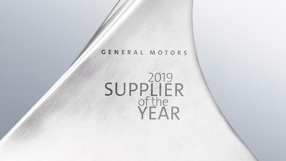 Dodavatel roku 2019 od General Motors