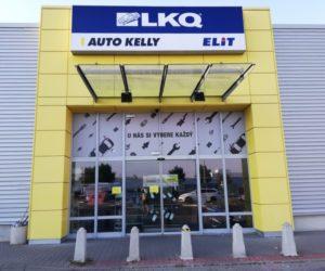Nová pobočka skupiny LKQ CZ (Auto Kelly + ELIT) v Mostě