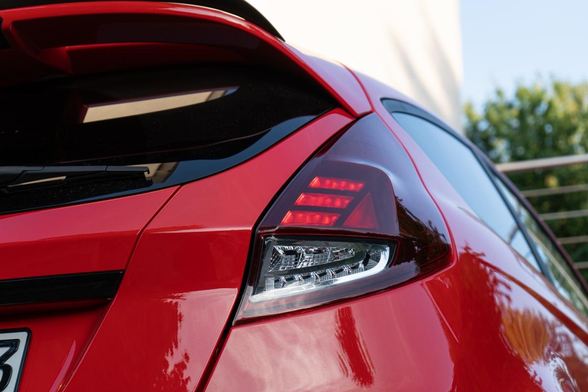Nová LED koncová světla Osram pro Ford Fiesta