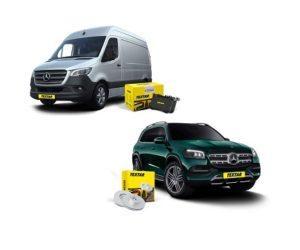 Textar: Brzdové kotouče a destičky nově pro vozy Mercedes-Benz GLS a Mercedes-Benz Sprinter