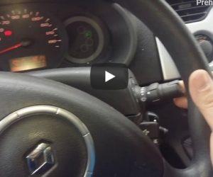 Vyhřívané trysky ostřikovače je zastaralá záležitost – je čas na vyhřívanou páčku pod volantem
