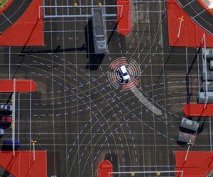 Jak automobily a infrastruktura spolupracují při automatizované jízdě ve městě