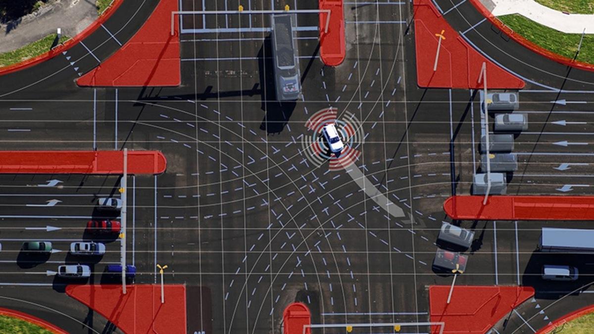 Infrastruktura u autonomního řízení