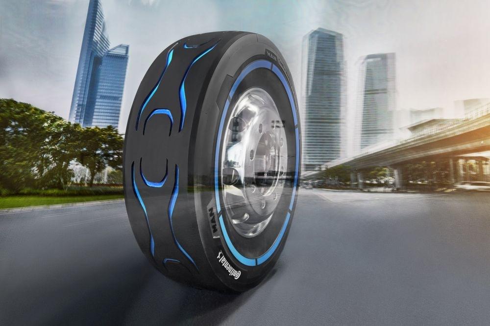Pneumatika Continental pro elektromobily