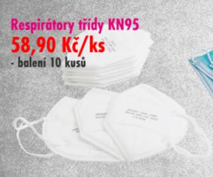 Firma FERDUS se připravuje na září: do sortimentu zařadila ochranné roušky a respirátory