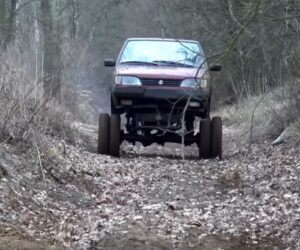Polonez jako monster truck