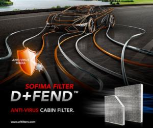 SOFIMA D+FEND: revoluční řešení kabinového filtru s ochranou proti virům a bakteriím