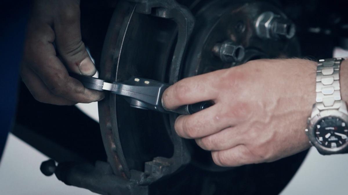 Kontrola brzdových kotoučů