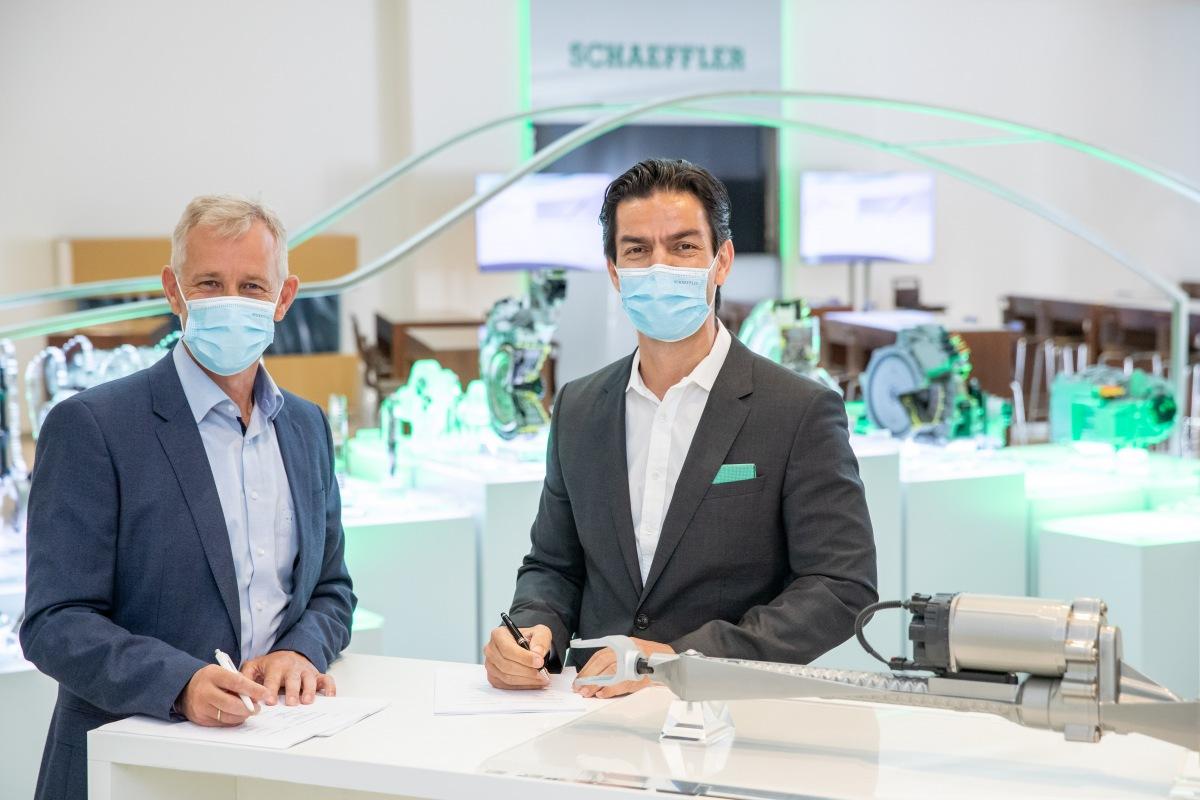 Schaeffler spolupráce s Bosch