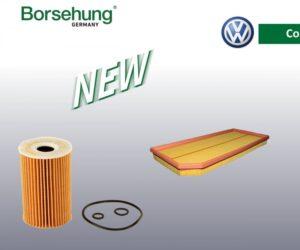 AUTO-MOTO RS rozšiřuje sortiment značky Borsehung o filtry pro vozidla VW Group