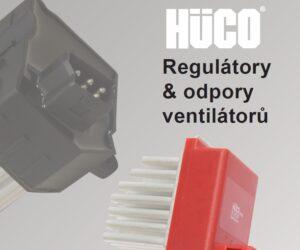 Novinky HÜCO –  Regulátory & odpory ventilátorů