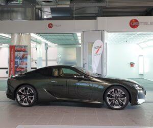 Interaction představuje novou lakovnu v luxusním showroomu Lexus v Průhonicích