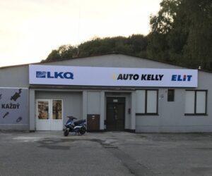 Skupina LKQ CZ (Auto Kelly + ELIT) prezentuje novou pobočku v Ústí nad Orlicí