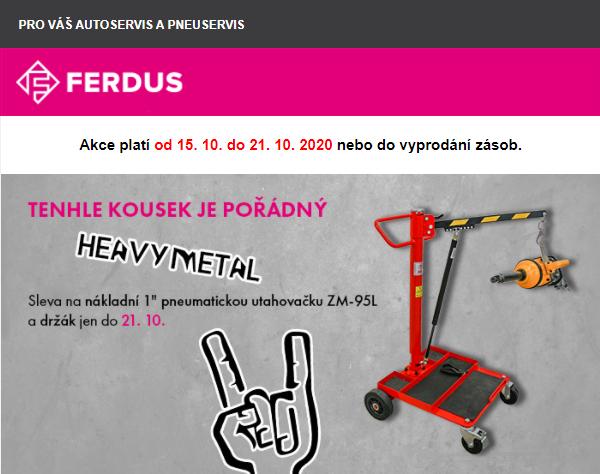 Akce firmy Ferdus