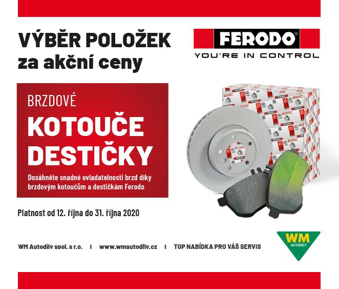 WM Autodíly: Ferodo – výběr položek za akční ceny