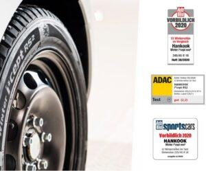 Zimní pneumatiky Hankook uspěly v nezávislých testech