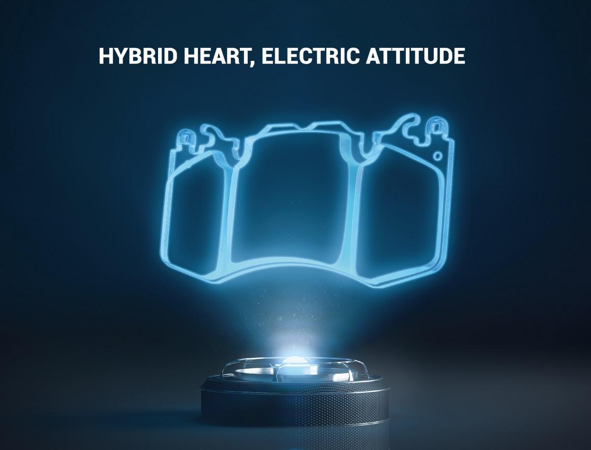 Brzdové destičky Metelli s technologií HybriX
