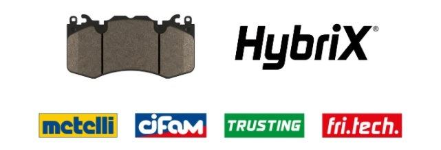 Brzdové destičky HybriX®