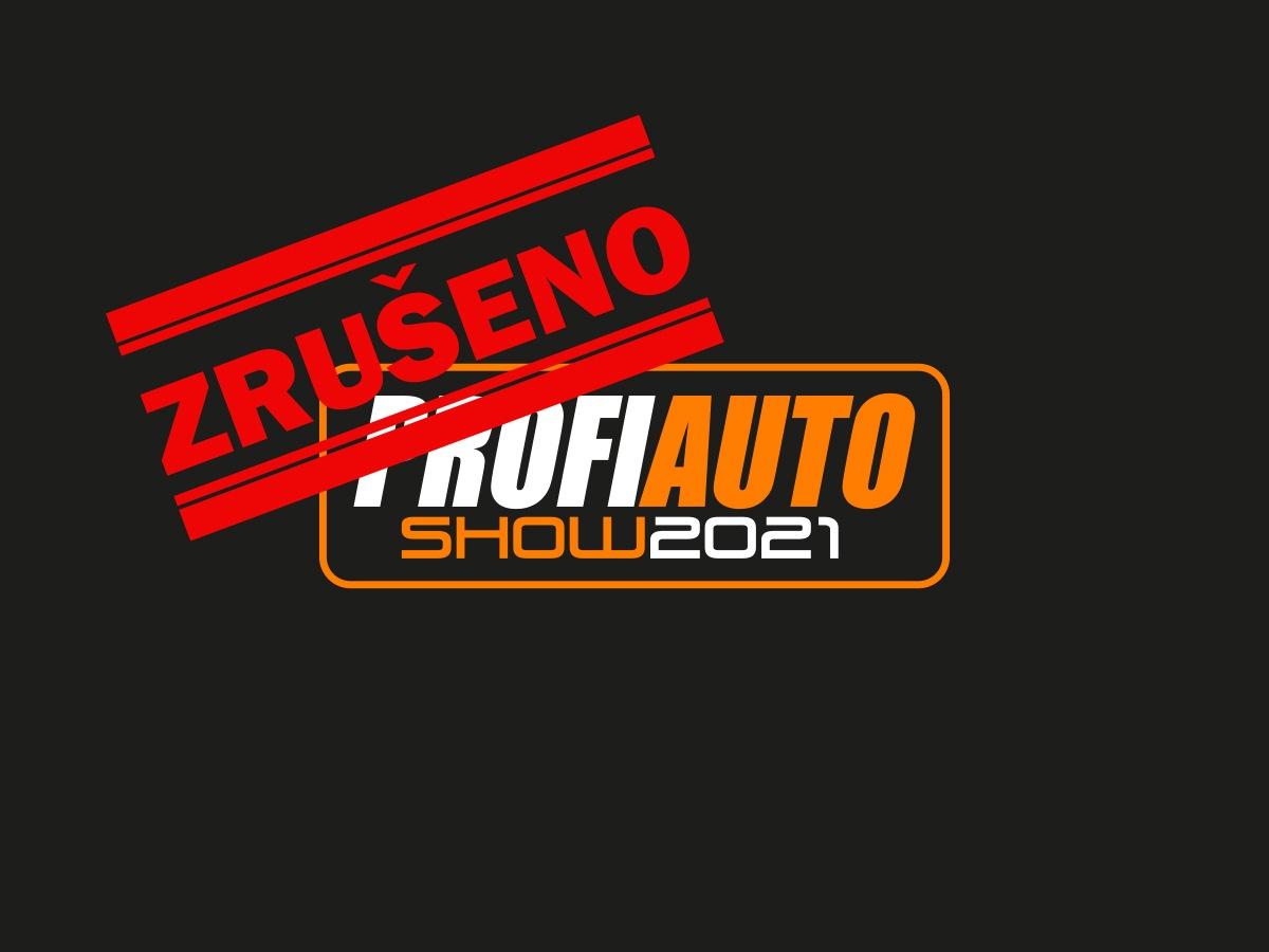 Veletrh ProfiAuto Show 2021 zrušen