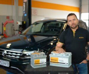 Baterie Continental nově v servisní síti BestDrive