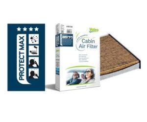 Kabinové filtry v nabídce firmy Valeo