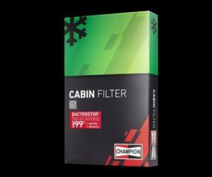 Nové antibakteriální kabinové filtry značky Champion