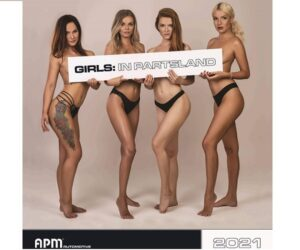 Nový kalendář APM Automotive: Dívčí krása ve světě autodílů – plná verze