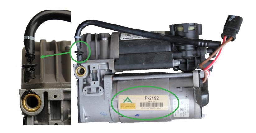 Kompresor pneumatického zavěšení Arnott