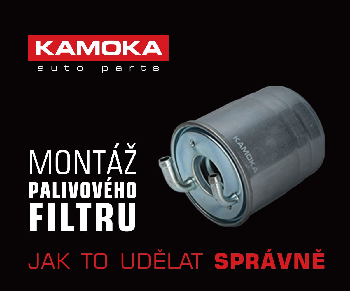 Montáž palivového filtru Kamoka