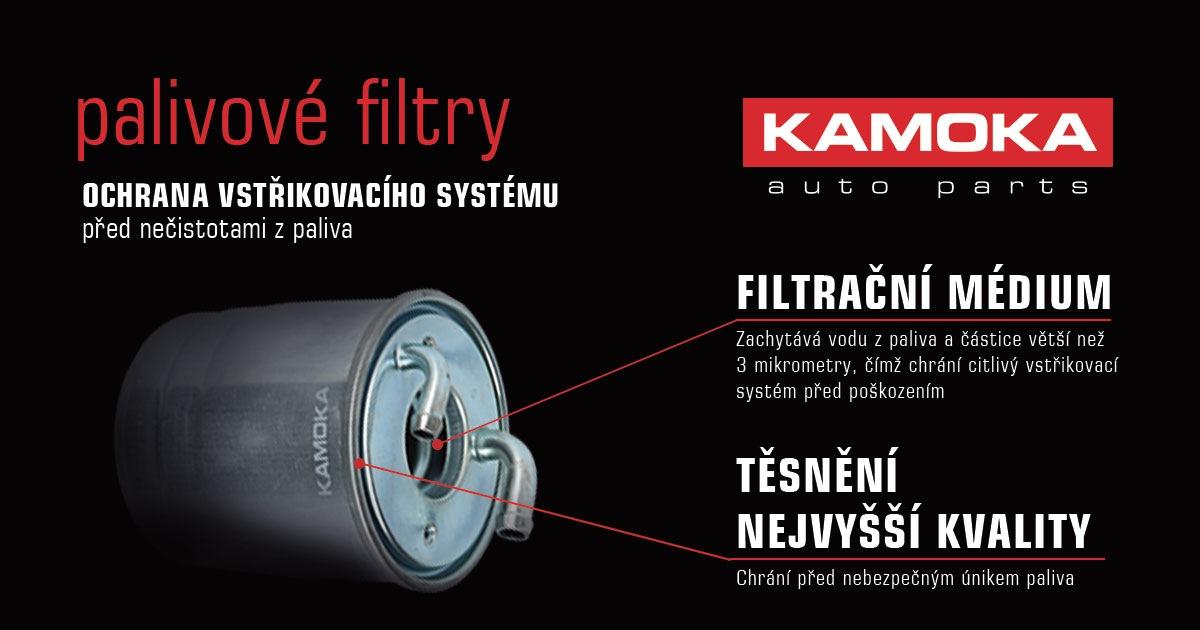 Ochrana palivových filtrů Kamoka