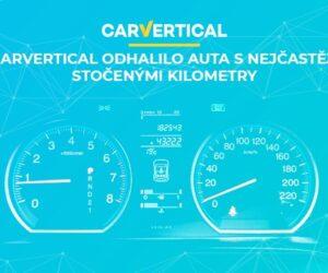 carVertical odhalilo auta s nejčastěji stočenými kilometry